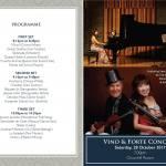 Singapore Concert 2017 Program