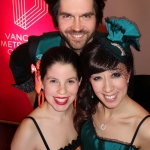 Marylou Vallejo, Ivan Tucakov, Oriana White - Photograph by Malcolm Parry